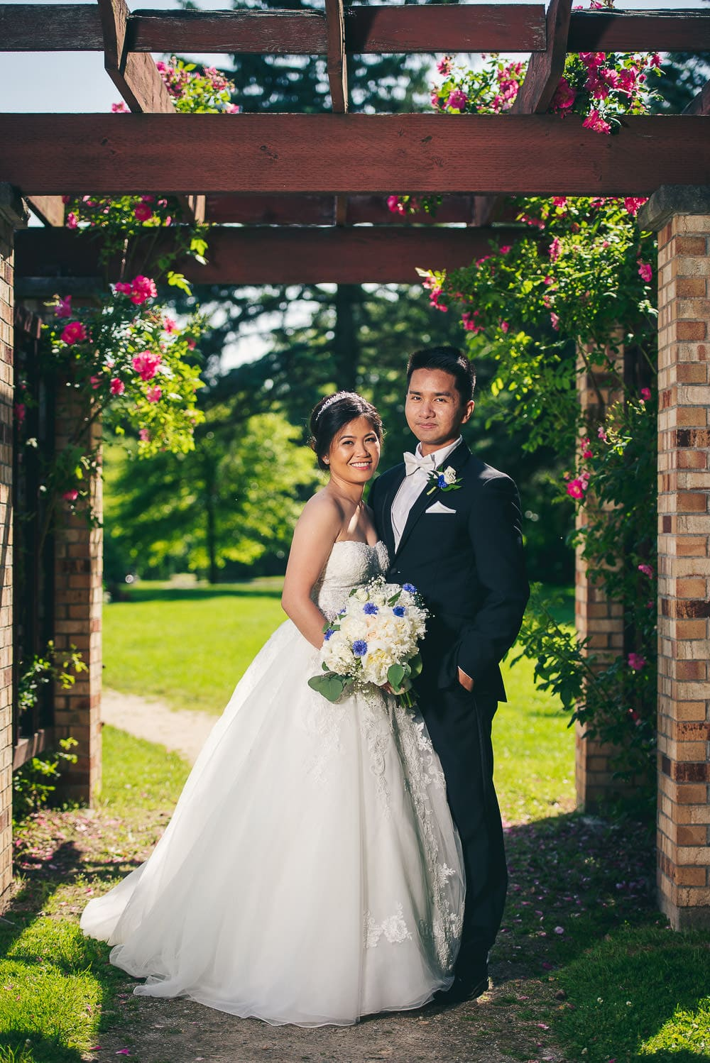 Civic gardens London Ontario wedding photo bridal portrait