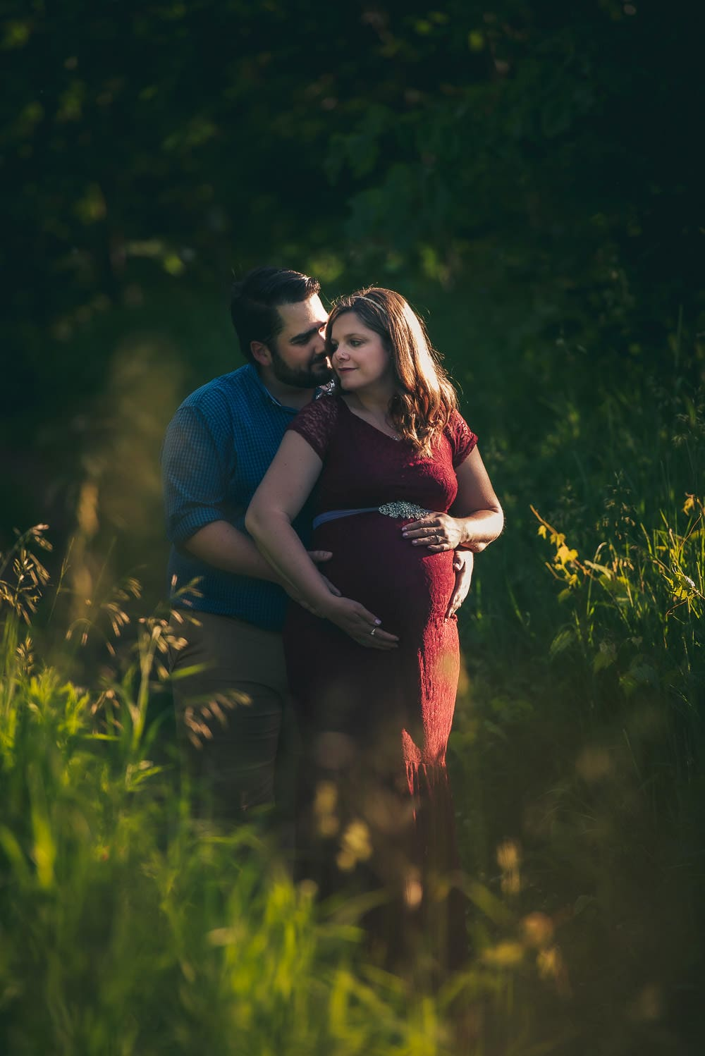 Maternity photo in London Ontario