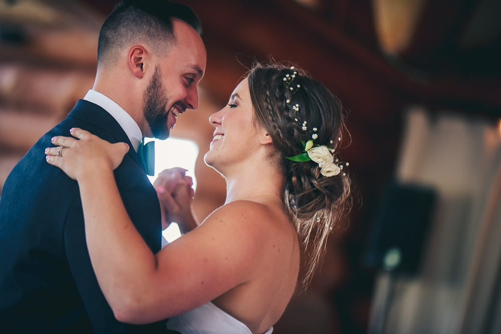 first dance at pine valley chalet