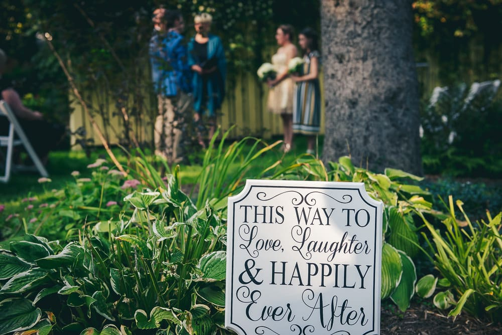Backyard Wedding in Toronto 6