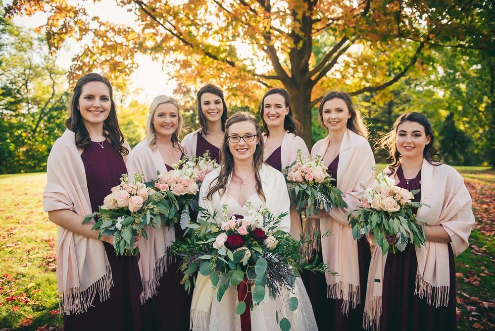 Elsie Perrin wedding London Ontario 8
