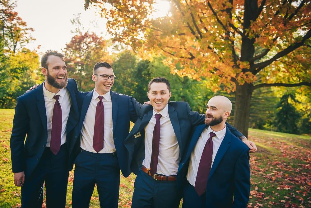 groomsman photo at elsie Perrin wedding