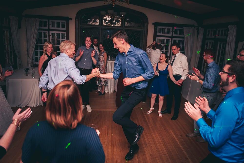 elsie Perrin wedding reception