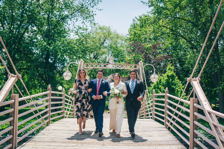Covid-19 Couple Magdalena & Tillo: An Intimate Backyard Wedding in Kitchener, Ontario 10