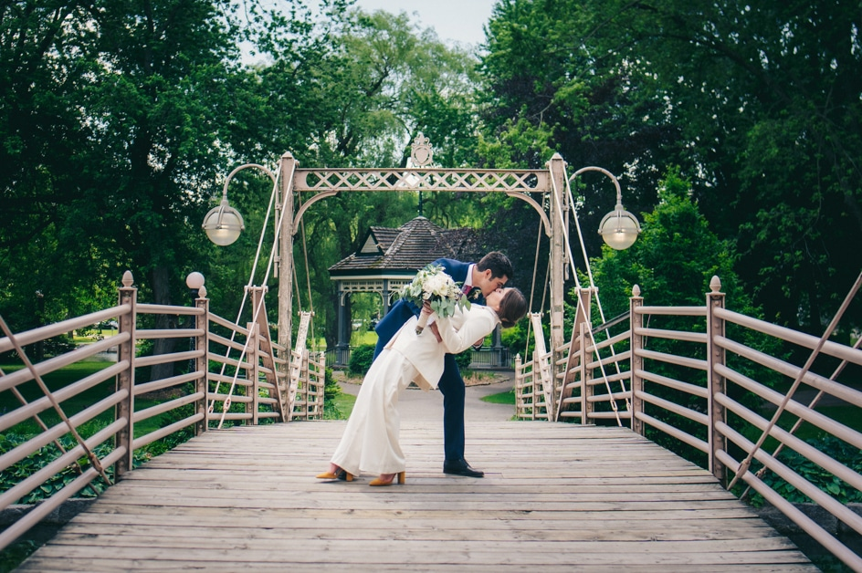Covid-19 Couple Magdalena & Tillo: An Intimate Backyard Wedding in Kitchener, Ontario 11
