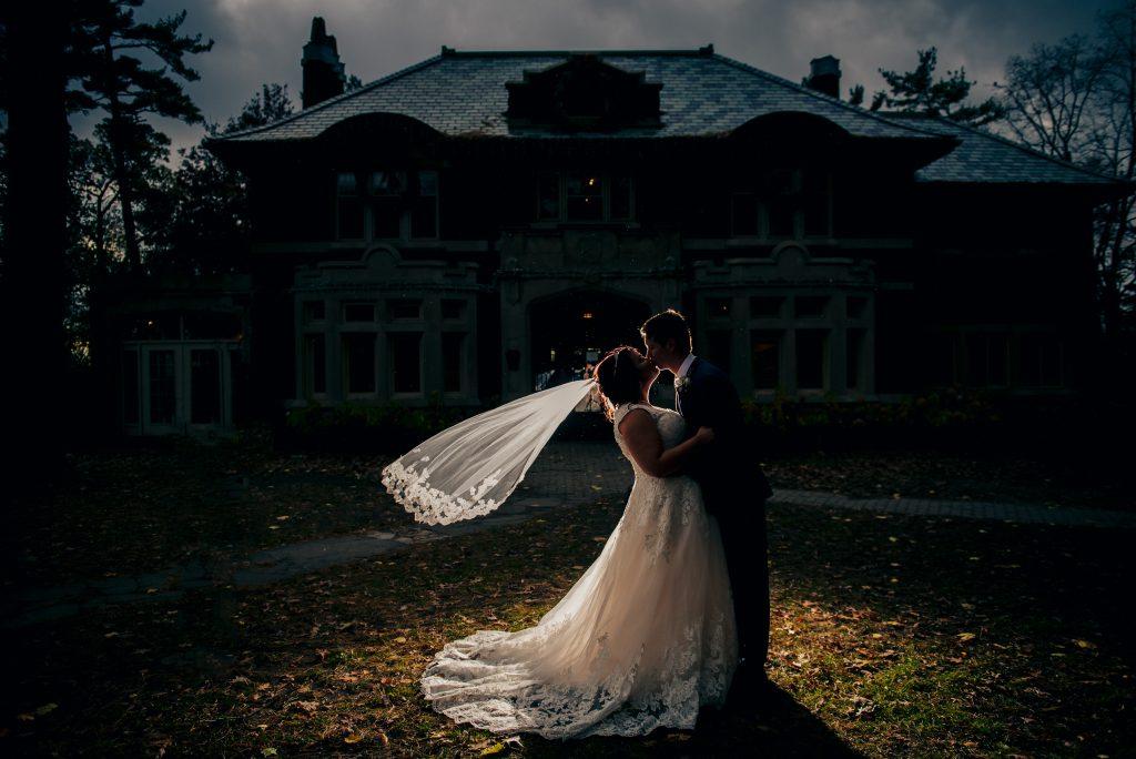 gorgeous wedding dress shot